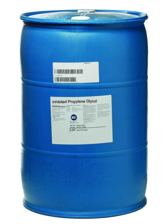 propylene-heat transfer fluid