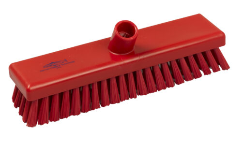 "12"" Floor Scrub – Stiff Fill (red)"