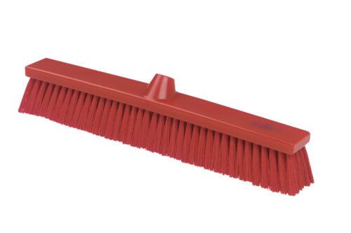 """20"""" Narrow Push Broom – Medium Fill (red)"""