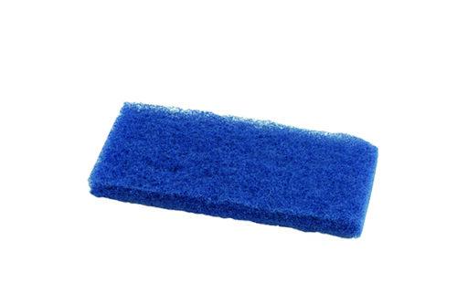 Floor Pads, Blue, Med-High Abrasion