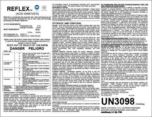 Reflex Label