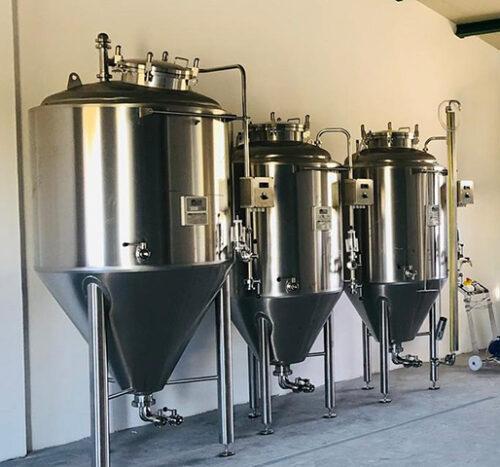 Brewing tanks