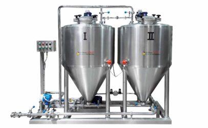 Yeast storage tank